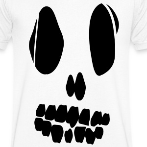 Skull / Halloween  T-Shirts - Men's V-Neck T-Shirt