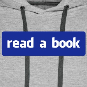 read a book Gensere - Premium hettegenser for menn