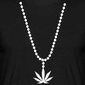 necklace weed cannabis marihuana T-Shirts - Men's T-Shirt