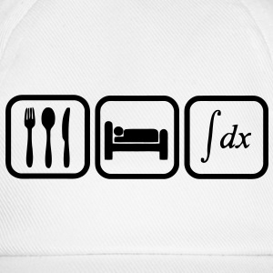 eat, sleep, calculate Caps & Hats - Baseball Cap