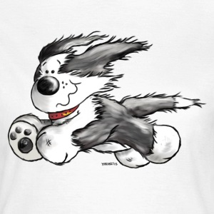 Bearded Collie- Beardie Power - Herding dog T-Shirts - Women's T-Shirt
