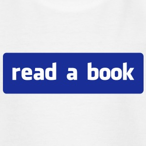 read a book T-shirts - Børne-T-shirt