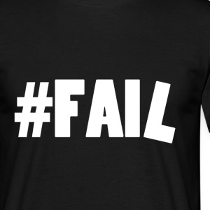 FAIL / White Tee shirts - T-shirt Homme