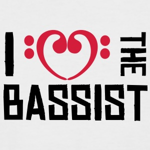 I love the Bassist T-Shirts - T-shirt baseball manches courtes Homme