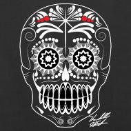Design ~ WHITE SKULL W SIG