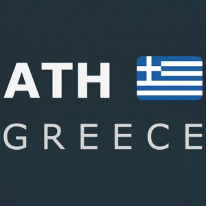 ATH GREECE white-lettered 400 dpi T-shirts - Dame-T-shirt