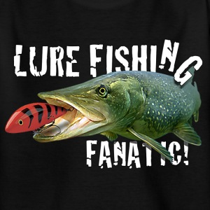 Kids 'Lure Fishing Fanatic' Tee shirt - Kids' T-Shirt