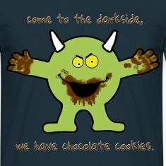 Chocolate cookie Monster T-Shirts