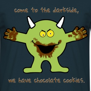 Chocolate cookie Monster T-Shirts - Men's T-Shirt