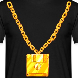 Old School Floppy Disk Chain T-Shirts - Men's T-Shirt
