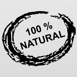 100 % Natural - Stoffbeutel