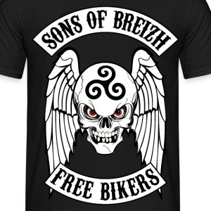 sons of breizh triskel Tee shirts - T-shirt Homme