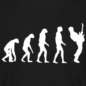Guitar Player Evolution T-shirts - T-shirt herr