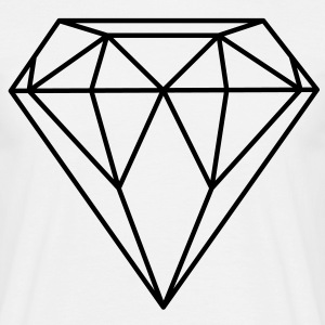Diamant / Diamond - T-skjorte for menn