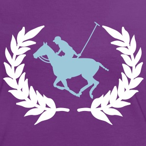 Polo Player T-Shirts - Women's Ringer T-Shirt