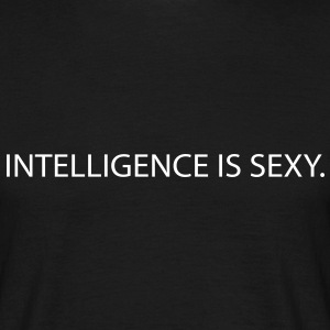 intelligence is sexy T-Shirts - Men's T-Shirt