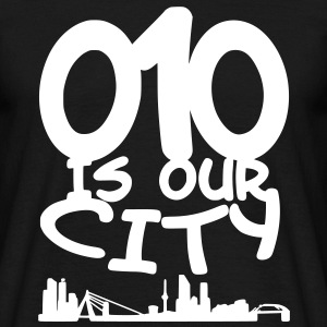 010 is our city T-shirts - Mannen T-shirt