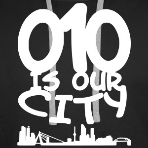 010 is our city Sweaters - Mannen Premium hoodie