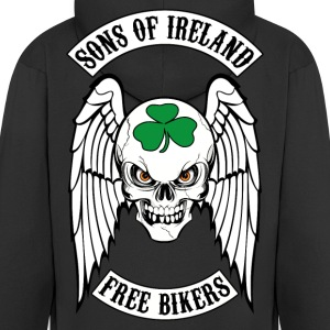 bikers - sons of ireland Sweat-shirts - Veste à capuche Premium Homme
