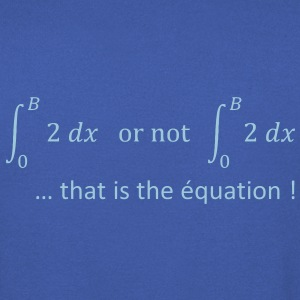 to_be_or_not_to_be_humour_maths Sweat-shirts - Sweat-shirt Homme