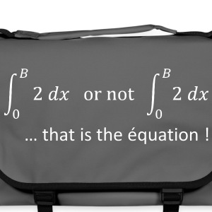to_be_or_not_to_be_humour_maths Sacs - Sac à bandoulière