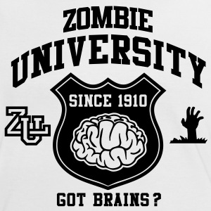 Zombie University T-Shirts - Women's Ringer T-Shirt