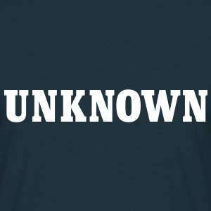 unknown | unbekannt T-Shirts - Mannen T-shirt