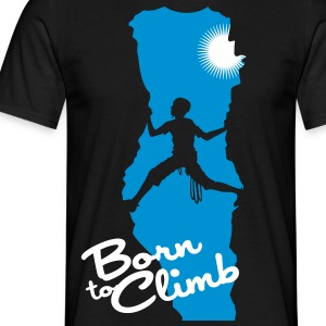 Born to climb - T-shirt Homme