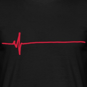 Flatline T-Shirts - Men's T-Shirt