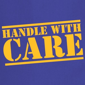 handle with care box sign in stencil  Aprons - Cooking Apron