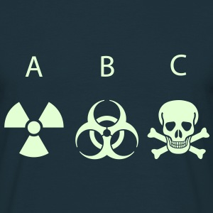 ABC - Atomic Biological Chemical T-Shirts - Men's T-Shirt