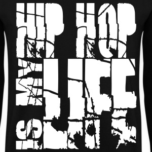 hip hop is my life Sweaters - Mannen sweater