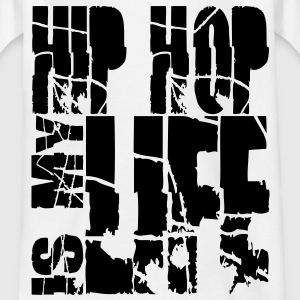 hip hop is my life Shirts - Teenage T-shirt