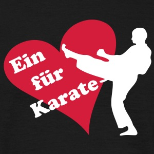 i love Karate - Männer T-Shirt