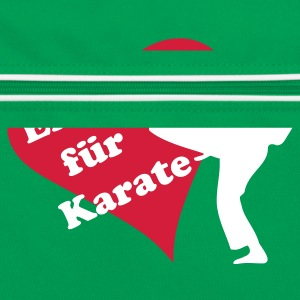 i love Karate - Retro Tasche