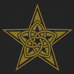 Pentagram & Venus Flower - Protection & Balance / T-shirts - Ekologisk T-shirt herr