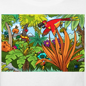 White Jungle Fun Kid's Shirts  - Kids' Organic T-shirt