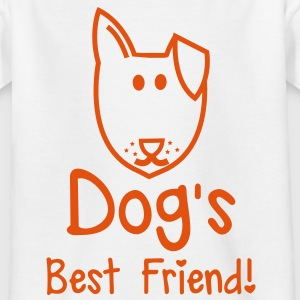 dog's  best friend! Super cute puppy design Shirts - Kids' T-Shirt
