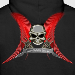 Metal is the Law Pullover & Hoodies - Männer Premium Hoodie