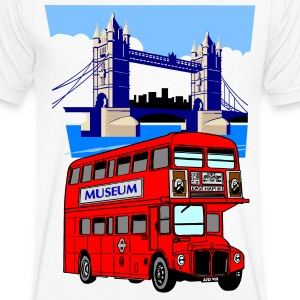 England London Big Ben Queens Guards bus london tower - Men's V-Neck T-Shirt