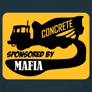 Navy Concrete - sponsored by Mafia T-Shirts - Männer T-Shirt
