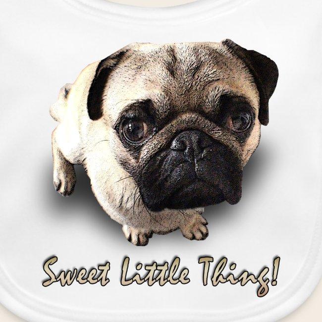 Mops Baby-Latz Sweet Little Thing