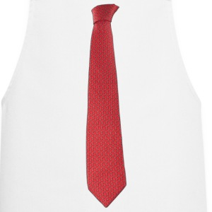 Tie Red  Aprons - Cooking Apron