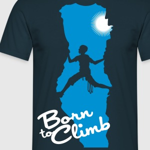 Born to climb - Men's T-Shirt