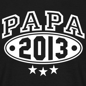 PAPA 2013 3-STAR DESIGN T-Shirt WB - Men's T-Shirt