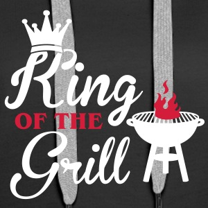 King of the Grill Gensere - Premium hettegenser for kvinner