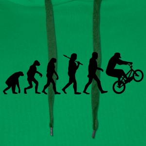 evolution of bmx Hoodies & Sweatshirts - Men's Premium Hoodie