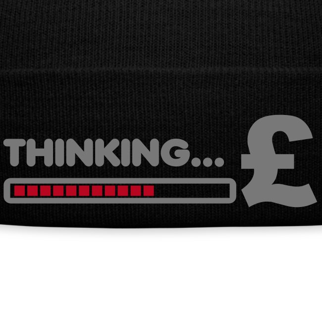 THINKING MONEY BEANIE !!