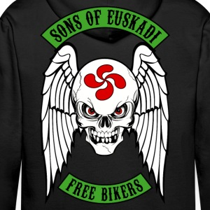 basque biker 1 Hoodies & Sweatshirts - Men's Premium Hoodie