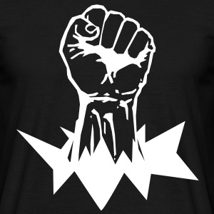 Faust Black Power Shirt - Männer T-Shirt